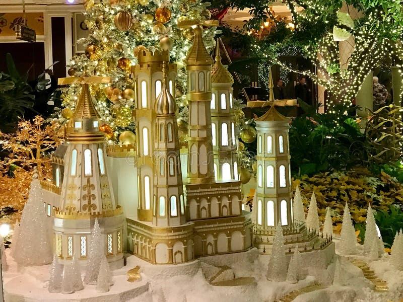 Weihnachtsdekorationen, Las Vegas, Nevada stockbilder