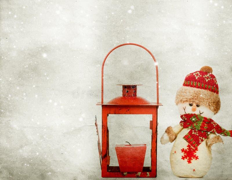 Download Weihnachtsdekorationen Mit Schneemann Stockfoto - Bild von gesät, verzierung: 47100052