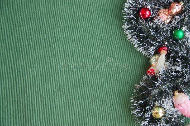 Weihnachtsdekorationen und seltenes neues Jahr ` s spielt stockfoto