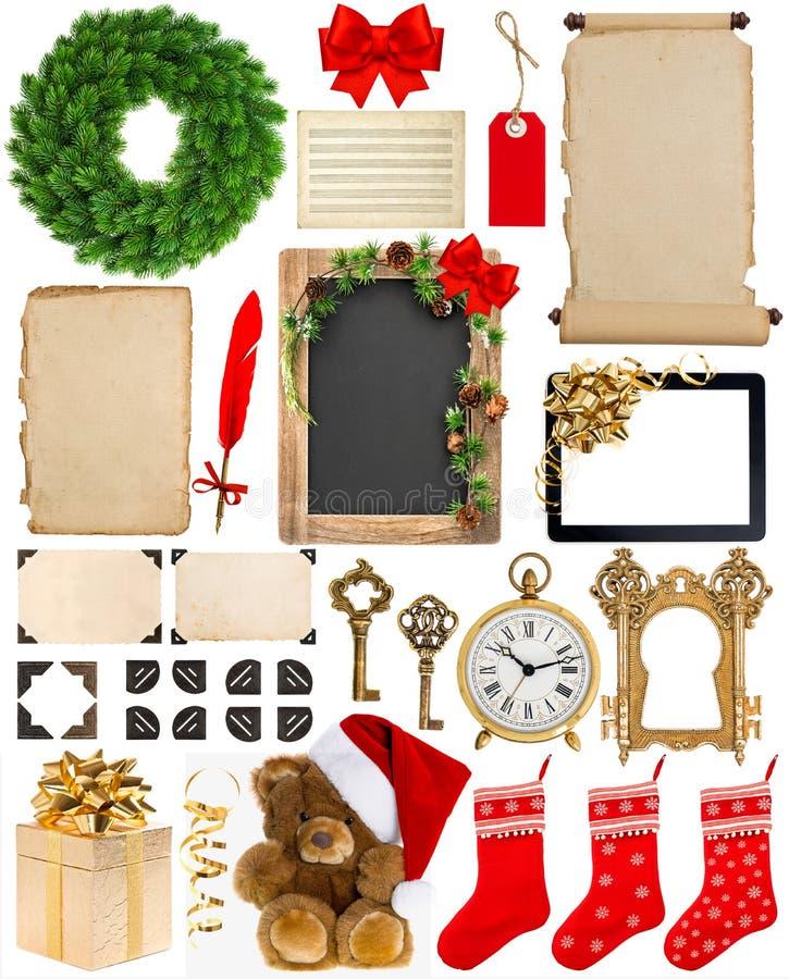 Weihnachtsdekorationen, -verzierungen Und -geschenke Papier Und ...