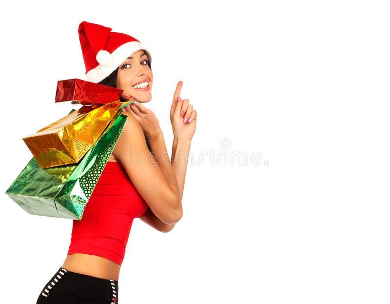 Weihnachtseinkaufen lizenzfreie stockfotos