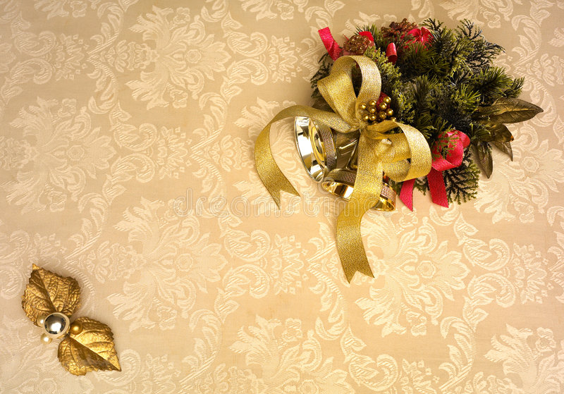 Weihnachtseinladung stockfotos