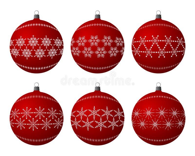 Weihnachtsfühler stock abbildung