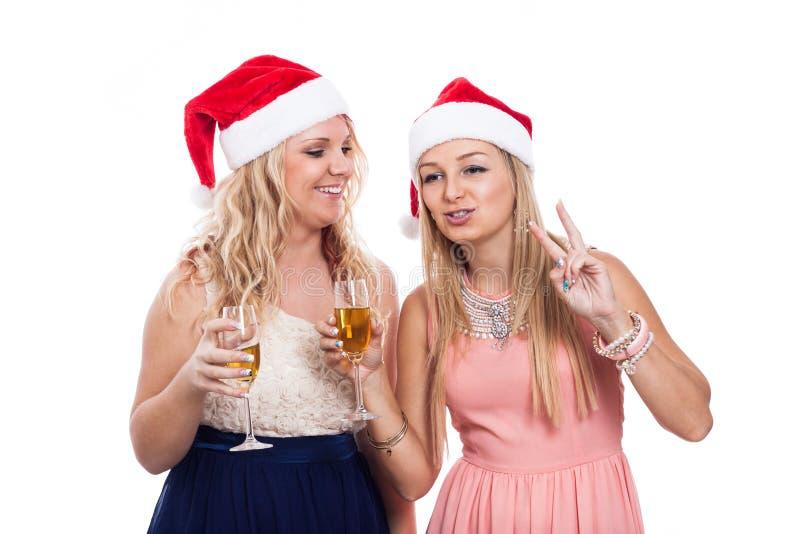 Weihnachtsfeier stockfotografie