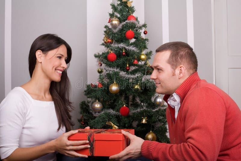 Weihnachtsfeier lizenzfreie stockfotografie