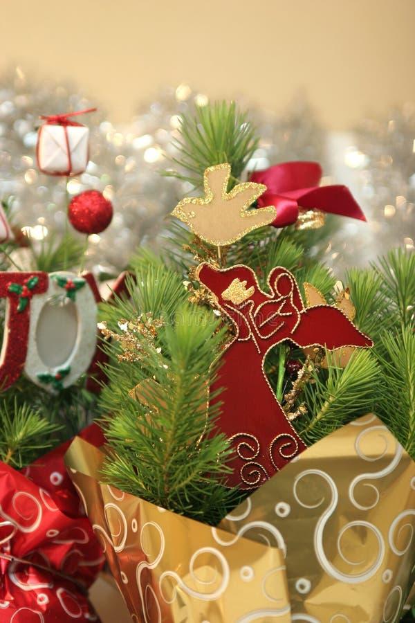 Weihnachtsfeiertags-Dekorationen lizenzfreie stockfotografie