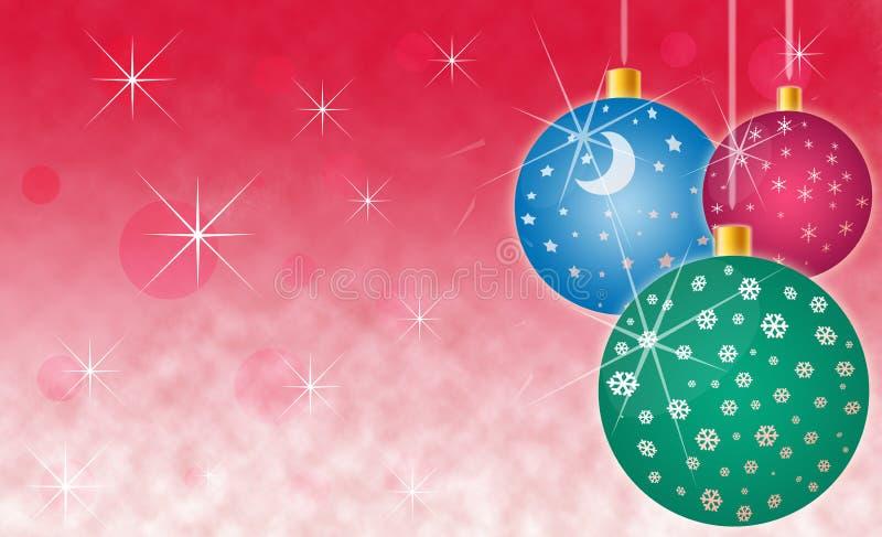 Weihnachtsfeiertags-Hintergrund lizenzfreie abbildung