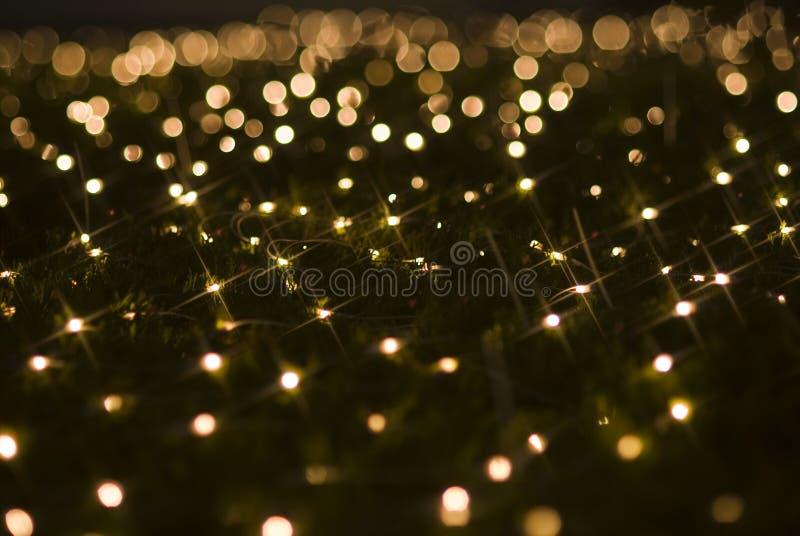 Weihnachtsfeiertags-Lichteffekte funkelnde Sequins