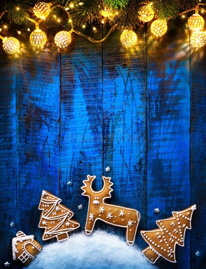 Weihnachtsfeiertagsverzierungs-Ebenenlage; Weihnachtskartenhintergrund lizenzfreie stockfotos