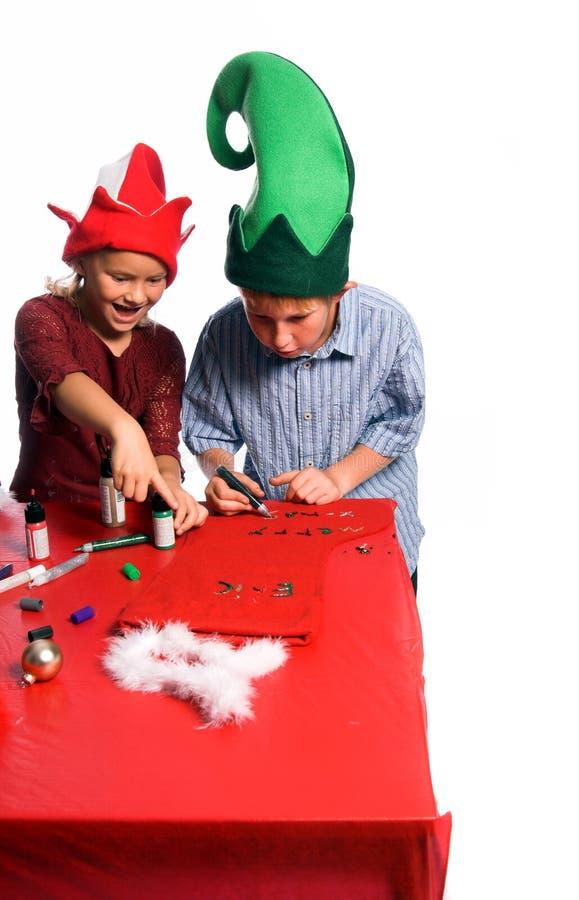 Weihnachtsfertigkeiten stockfotografie