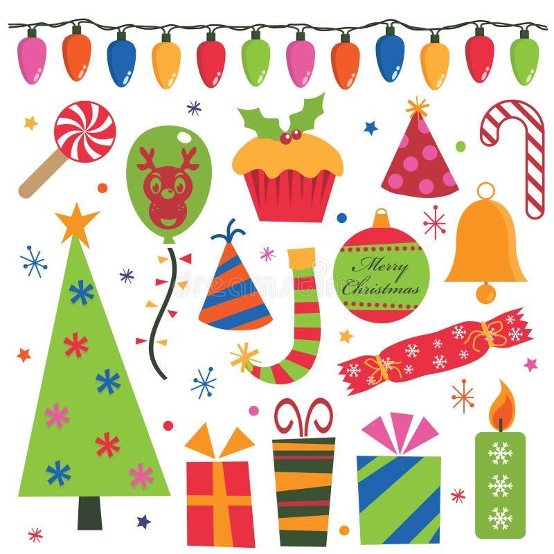 Weihnachtsfest lizenzfreie abbildung