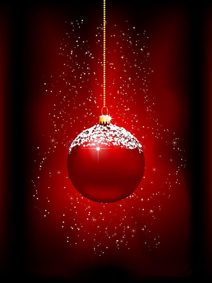 Weihnachtsflitterhintergrund vektor abbildung