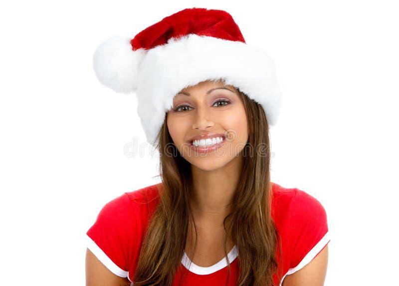 Weihnachtsfrau lizenzfreie stockbilder