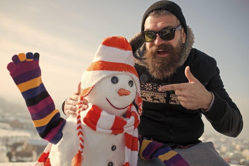 Weihnachtsfreizeit und -Winterbetrieb stockfotografie