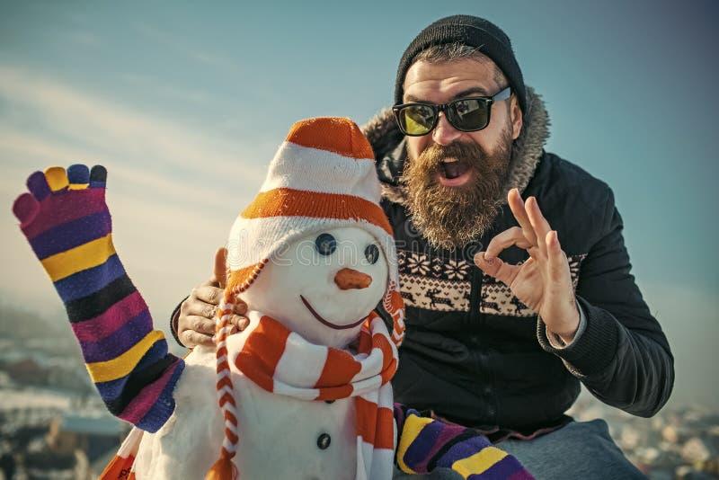 Weihnachtsfreizeit und -Winterbetrieb lizenzfreie stockbilder