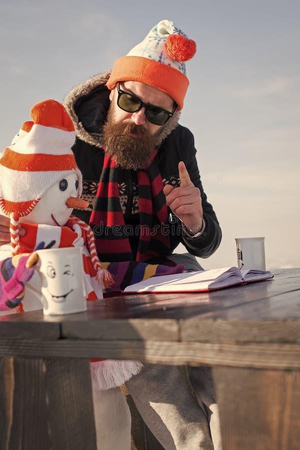 Weihnachtsfreizeit und -Winterbetrieb lizenzfreie stockfotografie