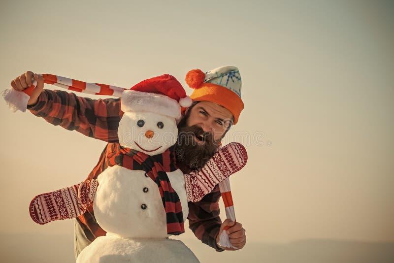 Weihnachtsfreizeit und -Wintersaison stockfoto