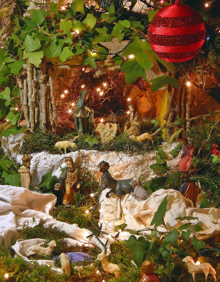 WeihnachtsGeburt Christi 1 stockbild
