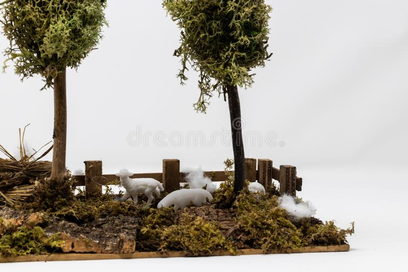 WeihnachtsGeburt Christiszene lizenzfreie stockfotografie