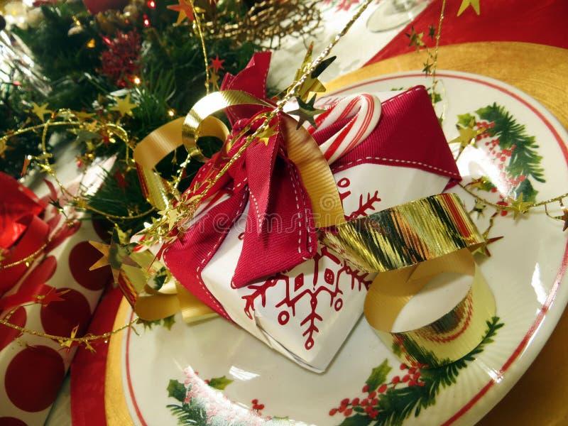 Weihnachtsgedeck lizenzfreie stockbilder