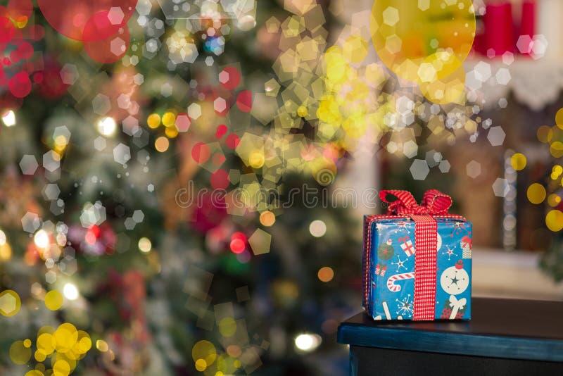 Weihnachtsgeschenk 2016 stockbild