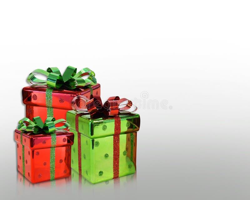Weihnachtsgeschenk-Hintergrund stock abbildung