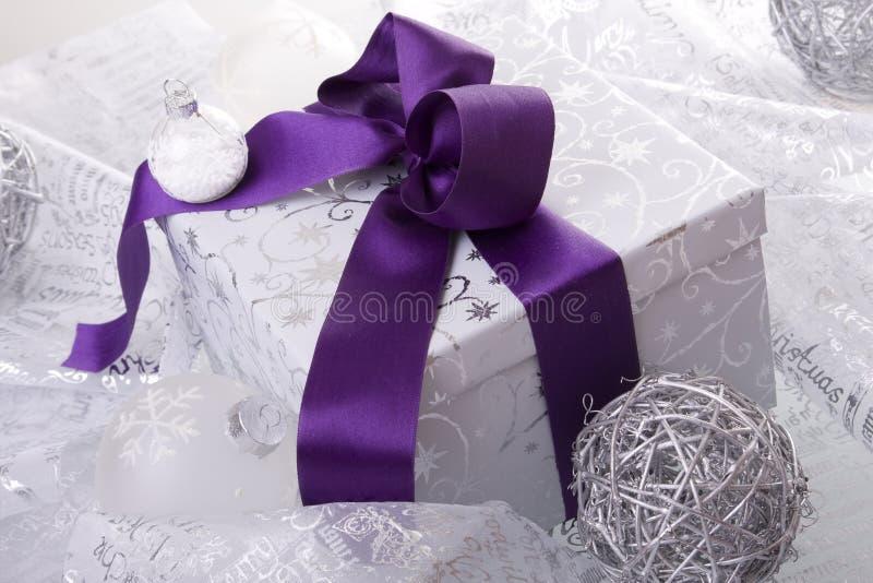 Weihnachtsgeschenkdekoration stockfoto