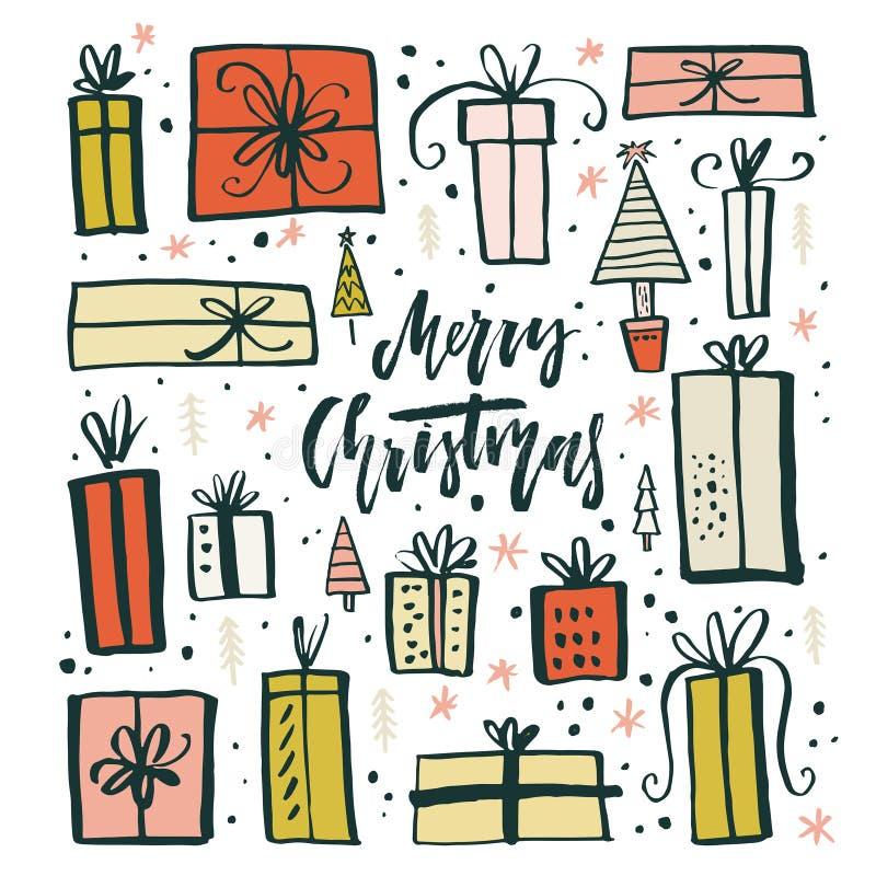 Weihnachtsgeschenke Clipart.Geschenke Clipart Vektor Abbildung Illustration Von Kennsatz 62139735