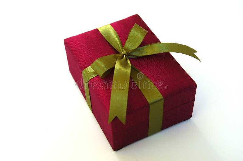 Weihnachtsgeschenkkasten stockbild