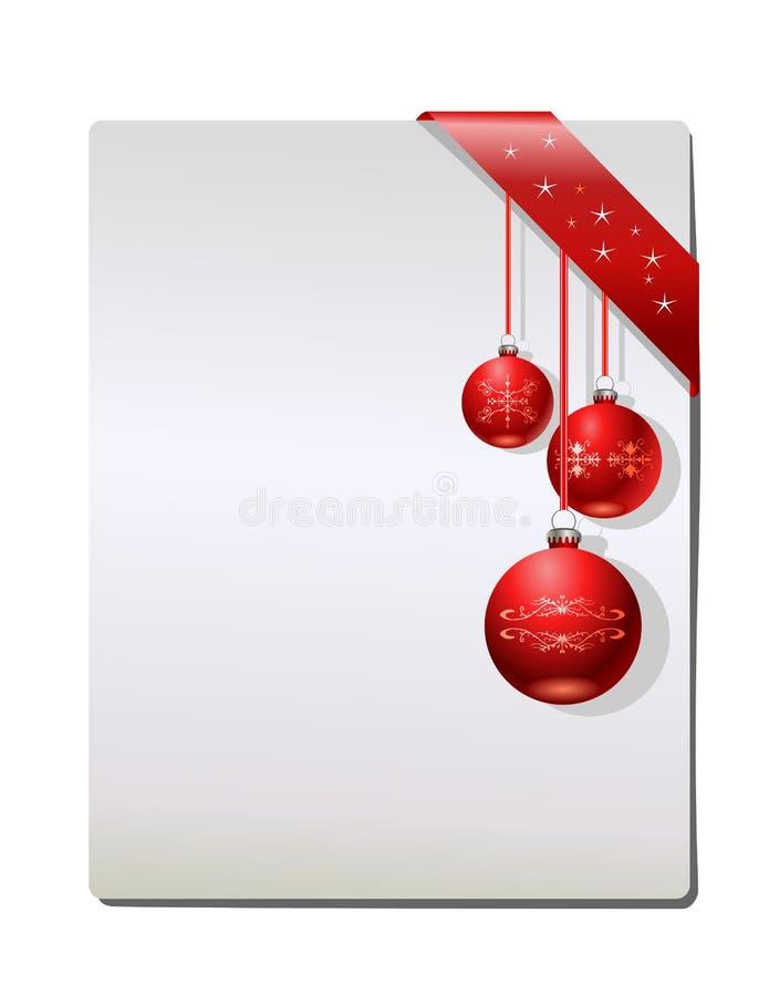 Weihnachtsgeschenkseite, Vektor vektor abbildung