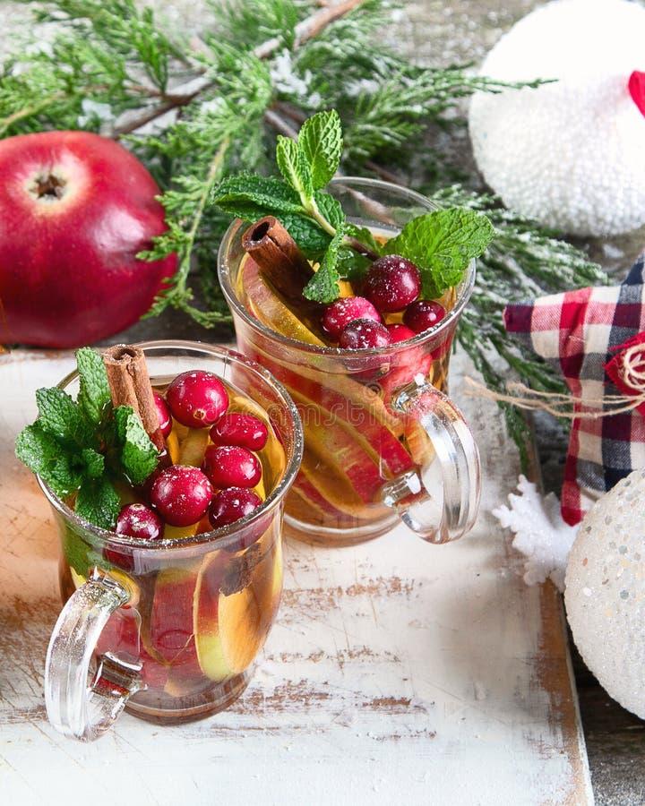 Weihnachtsgetränk lizenzfreie stockfotos