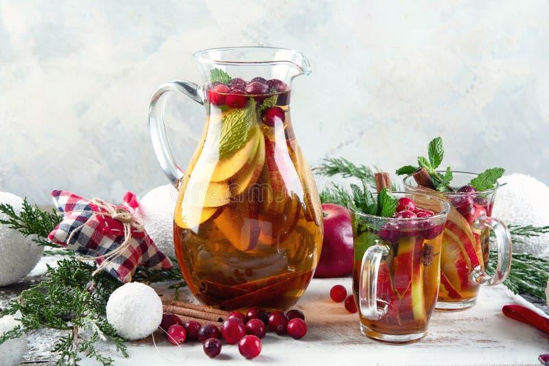 Weihnachtsgetränk stockbild
