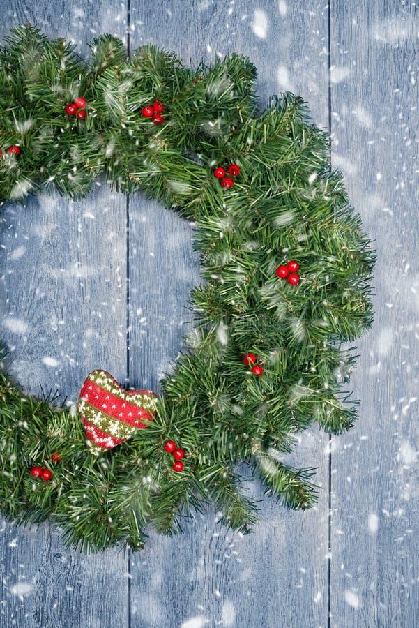 Weihnachtsgirlande stockfotos