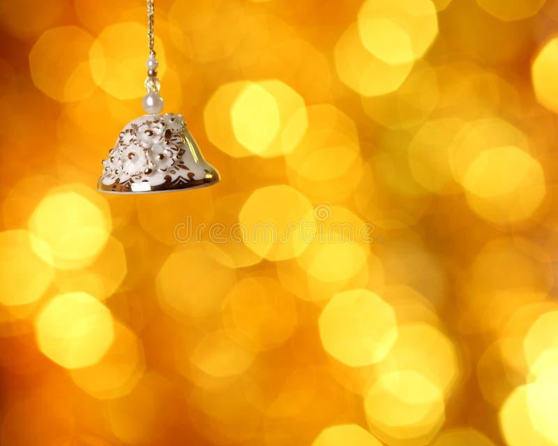 Weihnachtsglocke lizenzfreie stockfotografie
