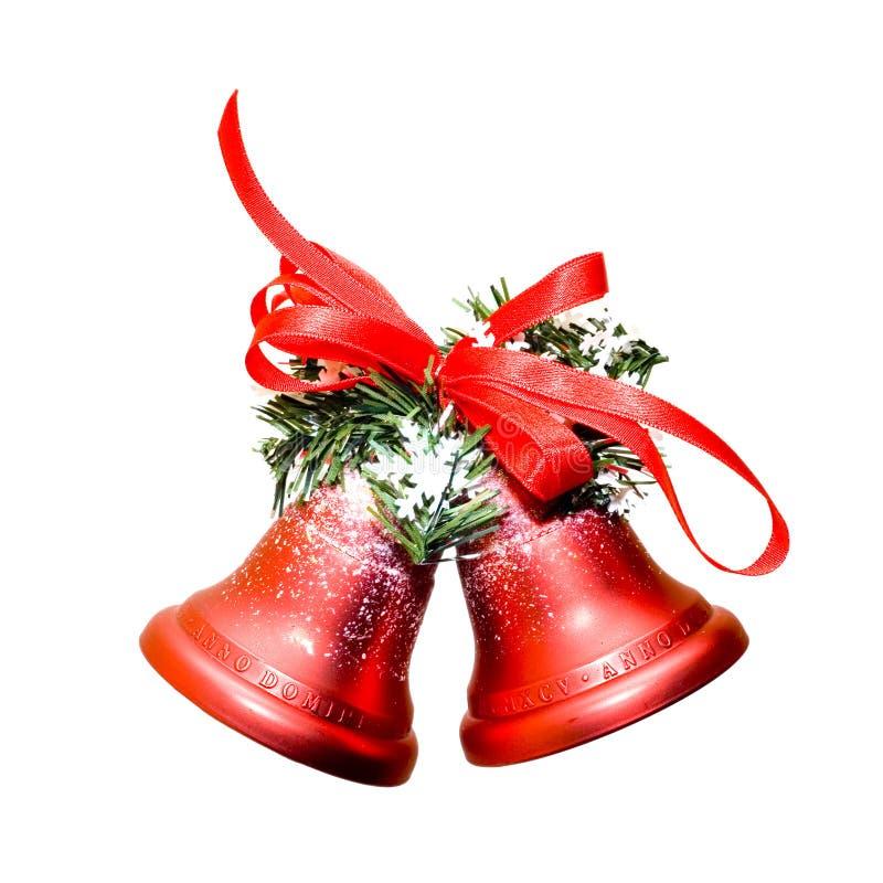 Weihnachtsglocken stockfoto