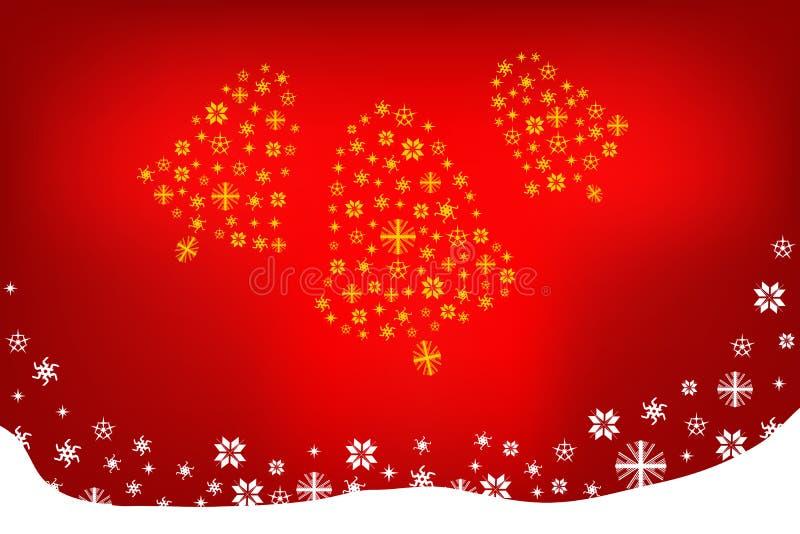 Download Weihnachtsglocken stockbild. Bild von tapete, weihnachten - 27726477