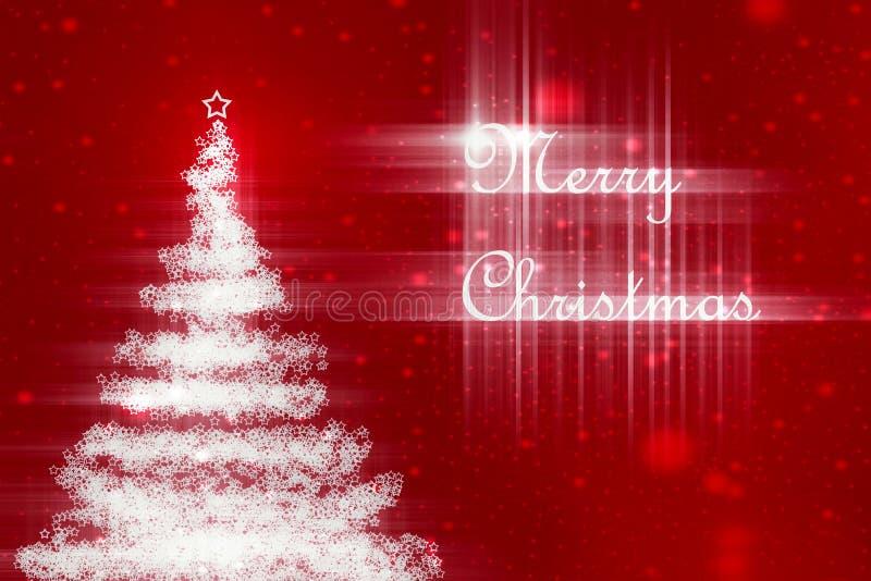 Weihnachtsgrüße vektor abbildung
