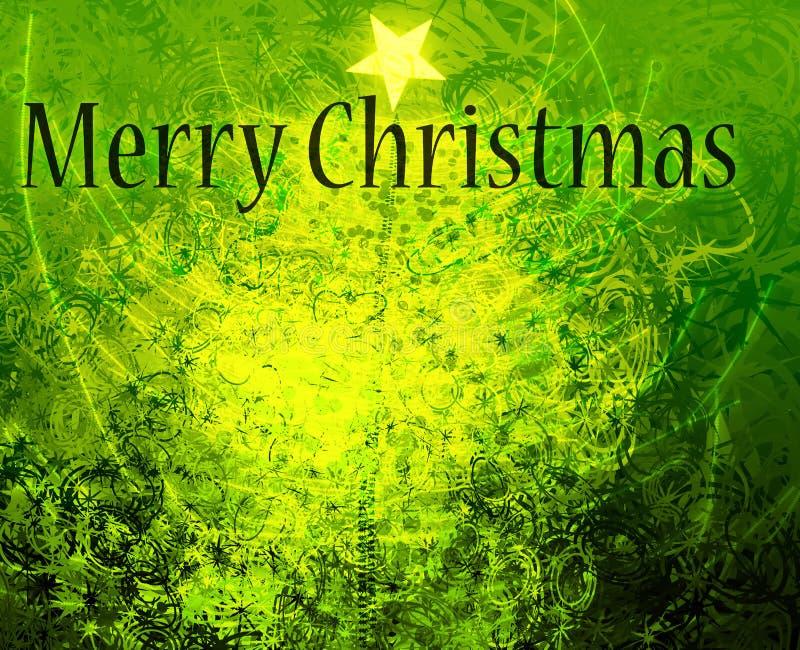 Weihnachtsgrüße stock abbildung