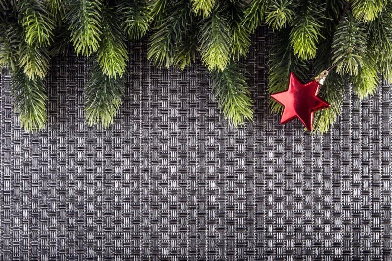 Weihnachtsgrenzdesign Weihnachtsmann auf einem Schlitten vektor abbildung