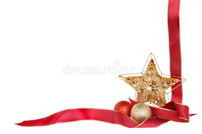 Weihnachtsgrenze lizenzfreie stockbilder