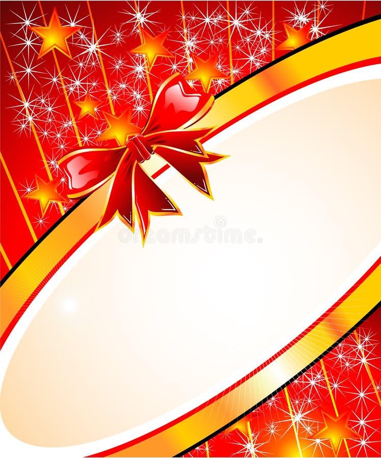 Weihnachtsgruß-Karte vektor abbildung