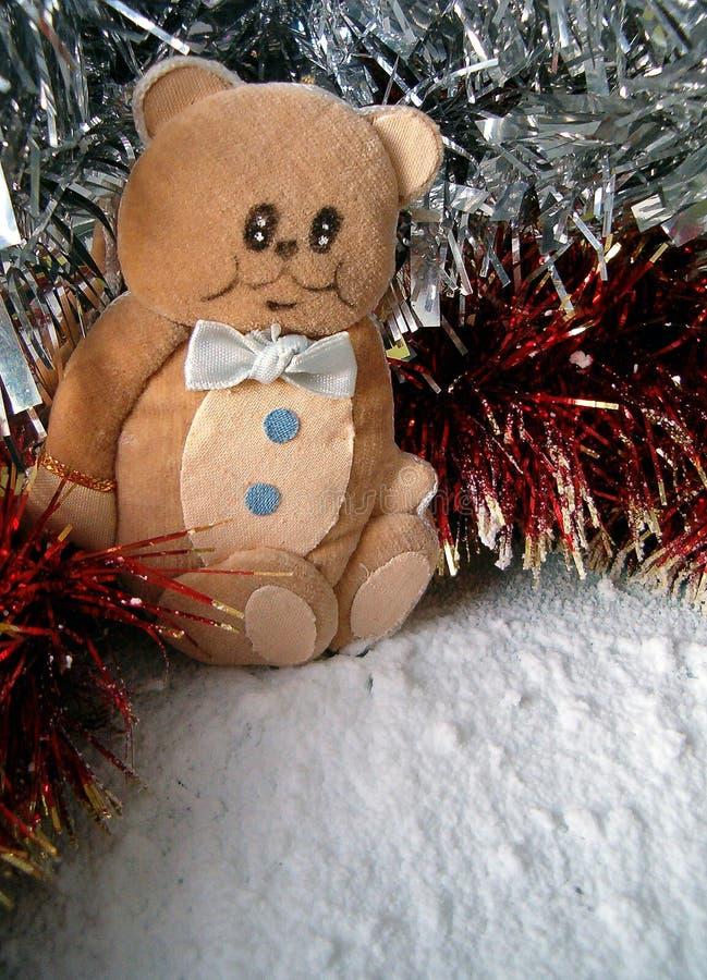 Weihnachtshandgemachte Verzierung lizenzfreies stockfoto