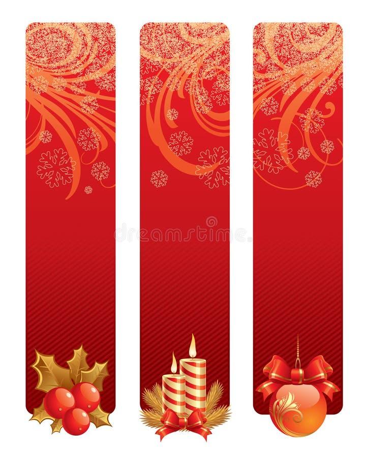 Weihnachtshintergründe lizenzfreie abbildung
