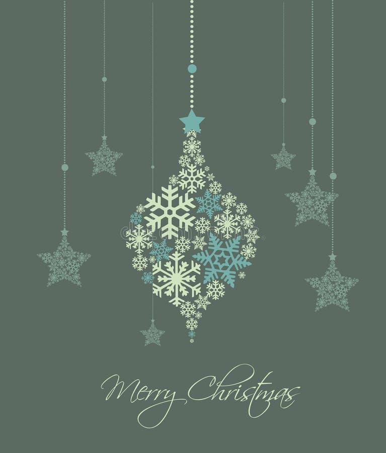 Download Weihnachtshintergrund vektor abbildung. Illustration von dekorativ - 26353145