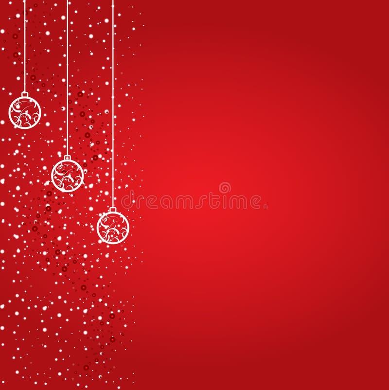 Weihnachtshintergrund-Auslegung stock abbildung