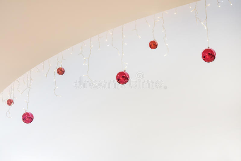 Weihnachtshintergrund für Grußkarte stockfotografie