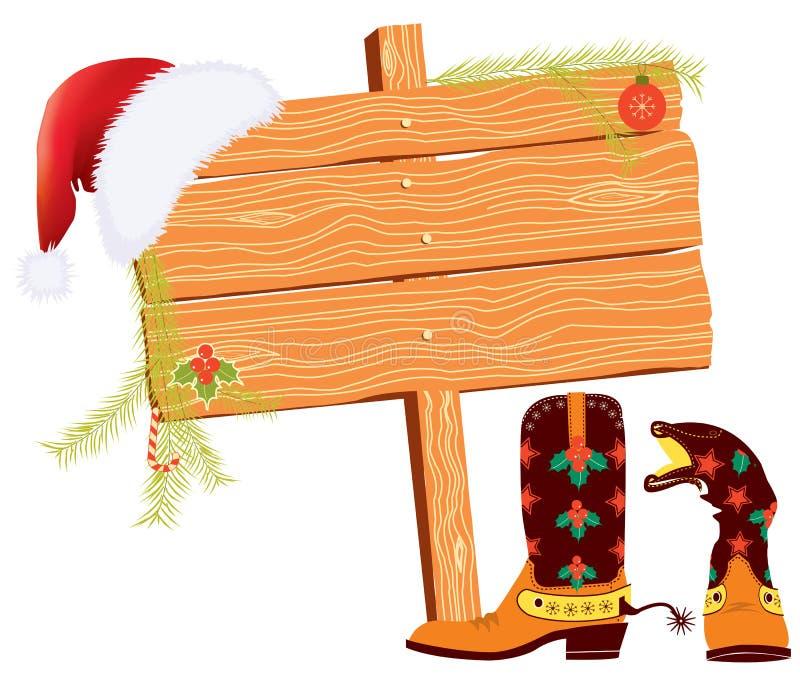 Weihnachtshintergrund für Text vektor abbildung