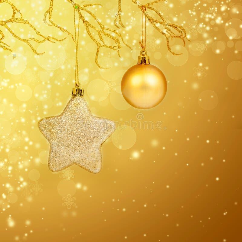 Download Weihnachtshintergrund Mit Nahaufnahme Auf Dekorationen Stockbild - Bild von kegel, auslegung: 47100019