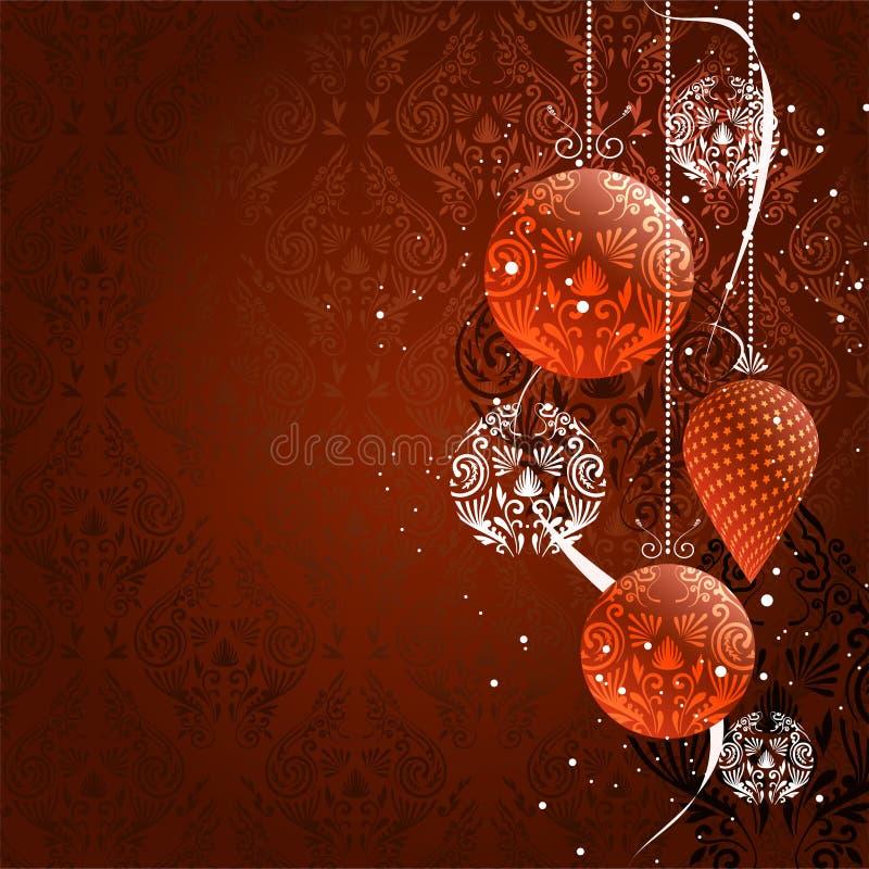 Weihnachtshintergrund. Vektor vektor abbildung