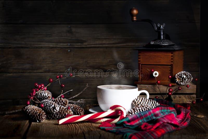 Weihnachtskaffee lizenzfreie stockfotos
